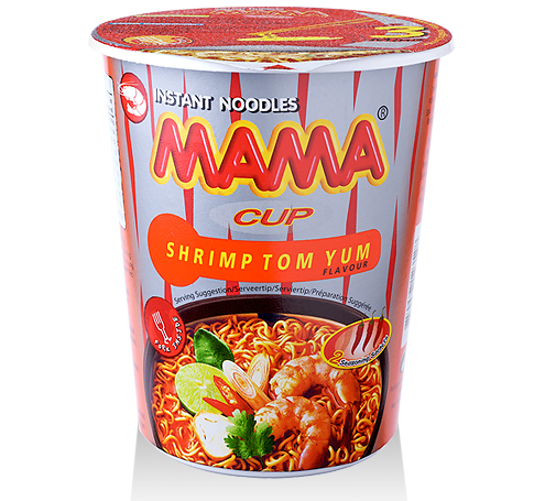 Mama cup tom yum shrimp - 70 g.